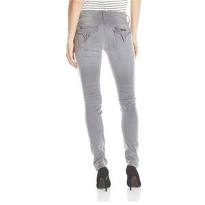 Hudson | Gray Mid Rise Elysian-Collin Skinny Jeans